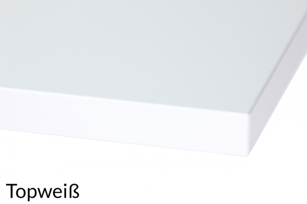 Freiformtischplatte Melamin Dekor in 3 Größen