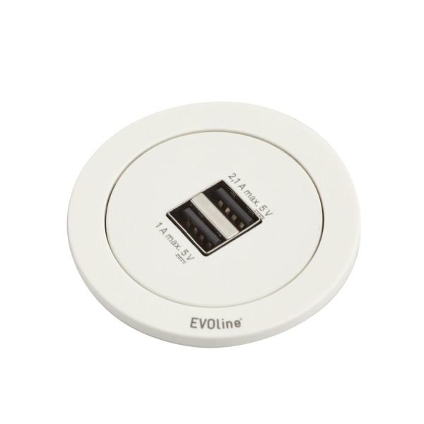 EVOline One Steckdose mit Berührungsschutz
