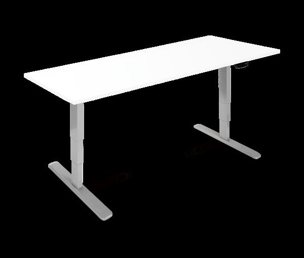 Elektrisch verstellbarer Schreibtisch in 160x80cm. Mit gratis Zubehör